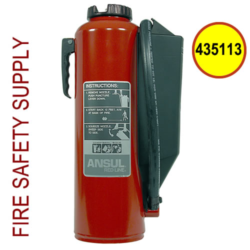 Ansul 435113 Red Line 20 lb. Extinguisher (CR-I-A-20-G-1)