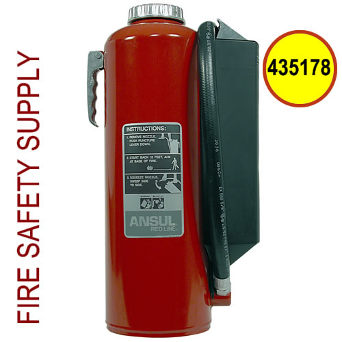Ansul 435178 Red Line Hand Portable Extinguisher, 30 lb., I-30-G-1