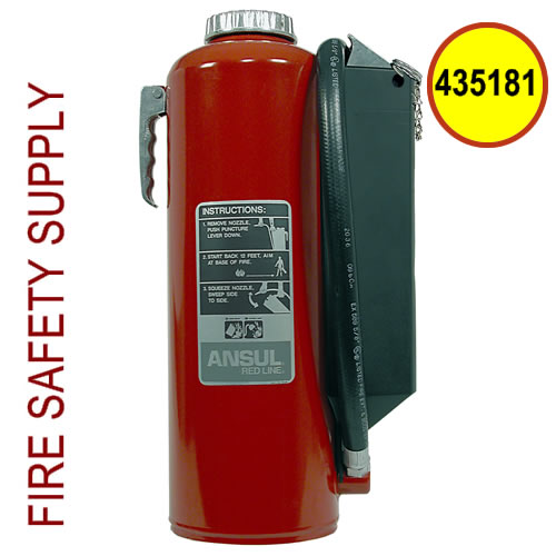 Ansul 435181 Red Line 30 lb. Hand Portable Extinguisher (RP-I-30-G-1)