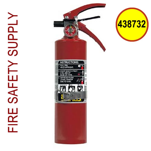 438732 Ansul Sentry 2.5 lb FORAY Extinguisher with Hanger Hook (A02S)