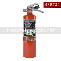 Ansul Sentry 438732 2.5 lb FORAY Extinguisher with Hanger Hook