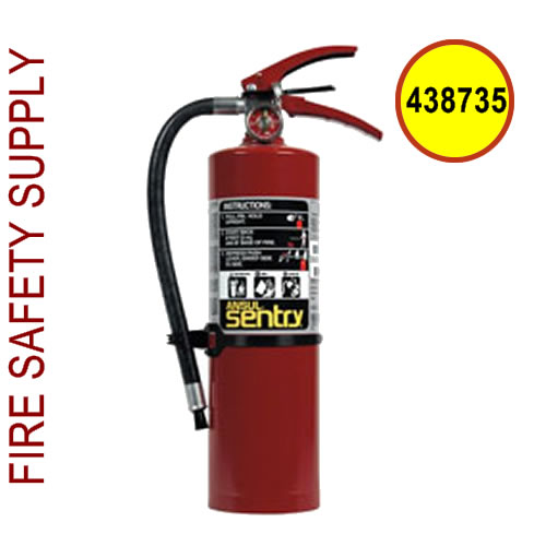 438735 Ansul Sentry 2.5 lb FORAY Extinguisher with Vehicle Bracket (A02SVB)