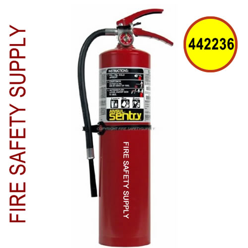 442236 Ansul Sentry 5 lb. FORAY Extinguisher with Vehicle Bracket (A05SVB)