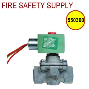 Ansul 550360 EGVSO-125 Gas Valve, Electrical, (120 VAC, 60 Hz) 1-1/4 in. Pipe