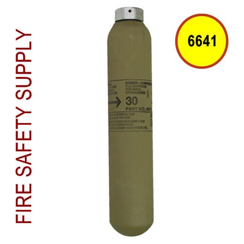Ansul 6641 Red Line Cartridge, Nitrogen, LT-30-L