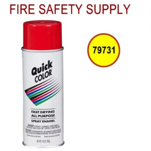 Ansul 79731 RED LINE CR-9 oz. Red Aerosol Paint