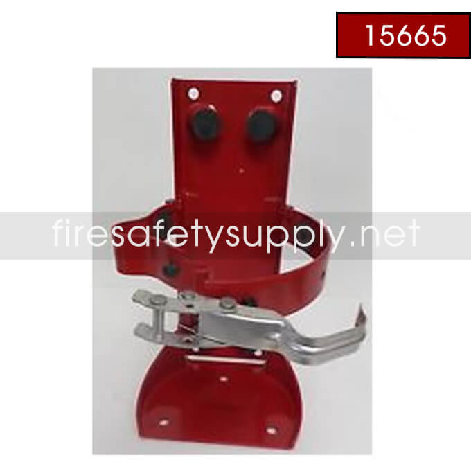 Ansul 15665 RED LINE Bracket with Military Ring Pin