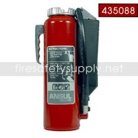 Foray (ABC) 10lb Ansul Red Line Fire Extinguisher (I-A-10-G-1) PN 435088 CHROME PLATED