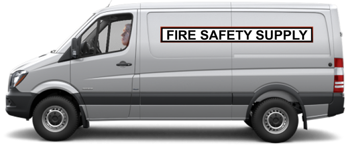 Fire Safety Supply Van