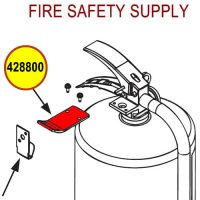 428800 Ansul Sentry/Cleanguard Hanger Adaptor