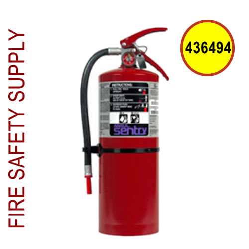 436494 Ansul SENTRY 10 lb Purple-K Extinguisher (PK10S)