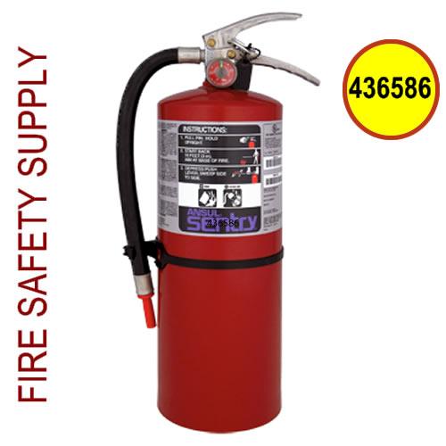 Ansul Sentry 436586 10 lb. Purple-K Industrial Extinguisher (PK10SI) (UL/ULC Rating: 80-B:C )