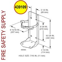 439109 Ansul Sentry Bracket Conversion Assembly (A10H/A10S)