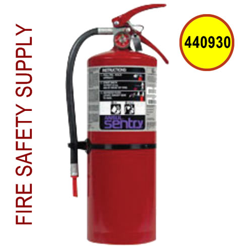 440930 Ansul Sentry 20 lb. Purple-K High Flow Extinguisher (HF-PK20)
