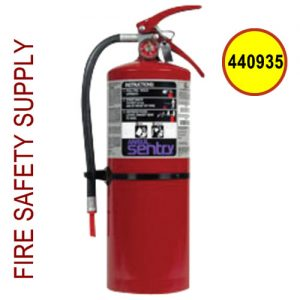 Ansul Sentry 440935 10 lb. Purple-K High Flow Extinguisher (HF-PK10S) (UL/ULC Rating: 20-B:C)