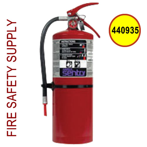 440935 Ansul Sentry 10 lb. Purple-K High Flow Extinguisher (HF-PK10S)