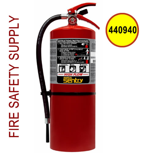 440940 Ansul Sentry 20 lb. FORAY High Flow Extinguisher (HF-AA20-1)