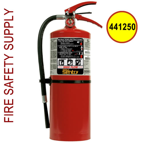 441250 Ansul Sentry 10 lb. Purple-K High Flow Extinguisher (CR-HF-PK10SI)