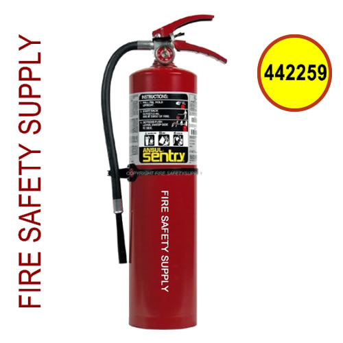 442259 Ansul Sentry 5 lb. FORAY Chrome Extinguisher (A05-S)