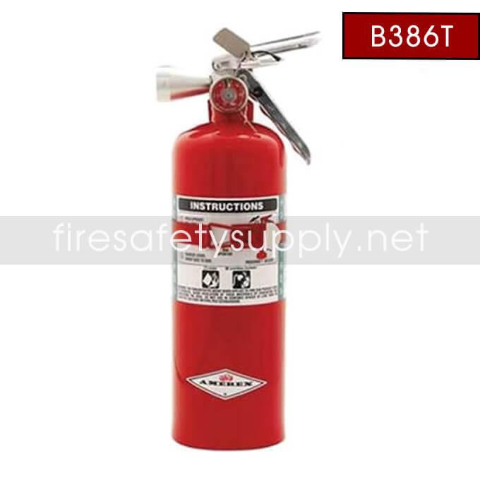 Amerex B386T Halotron 5 lb. 1 Clean Agent Extinguisher