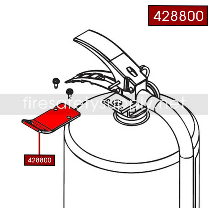Ansul 428800 Ansul Sentry Cleanguard Hanger Adaptor