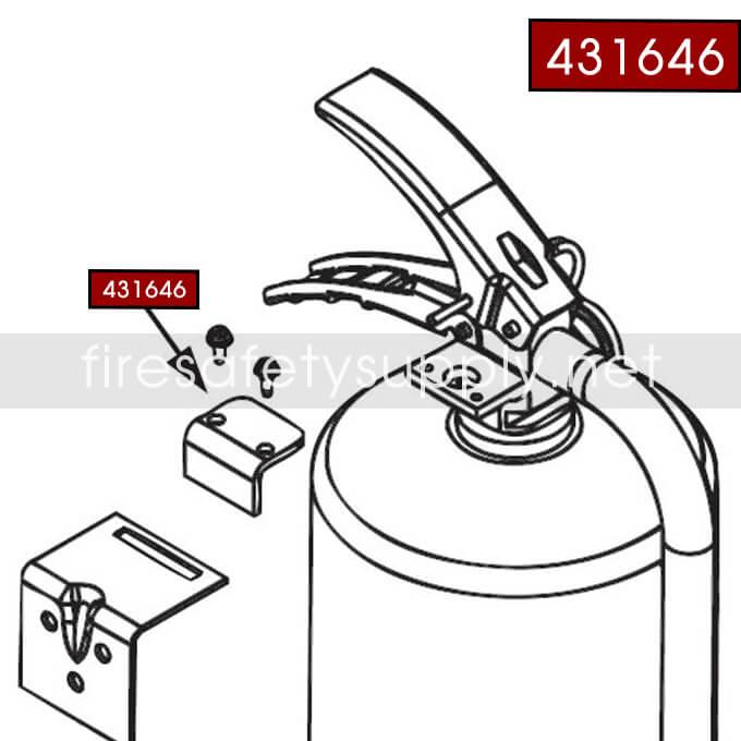 Ansul Sentry 431646 Hanger Adaptor