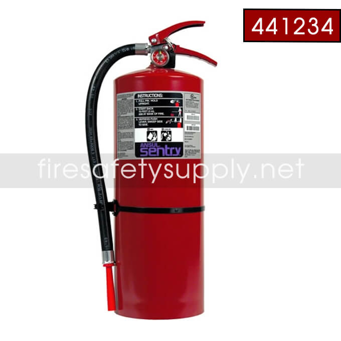 Ansul Sentry 441258 10 lb. FORAY High Flow Extinguishe
