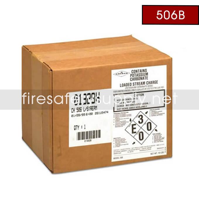 Amerex Charge 506B, 10 lb. carton Loaded Stream/Anti-Freeze – Model 240