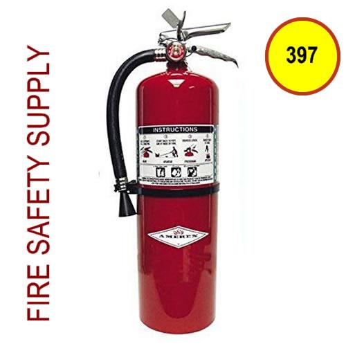 Amerex 397 11 lb. Halotron 1 Clean Agent Extinguisher