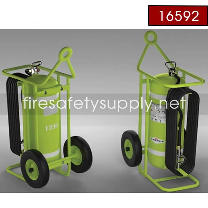 Amerex 600K-150 LB HALON Wheeled Extinguisher