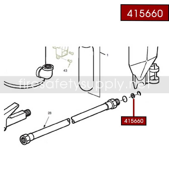 Ansul 415660 RED LINE 20 lb
