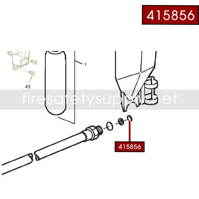 Ansul 415856 RED LINE 20 lb