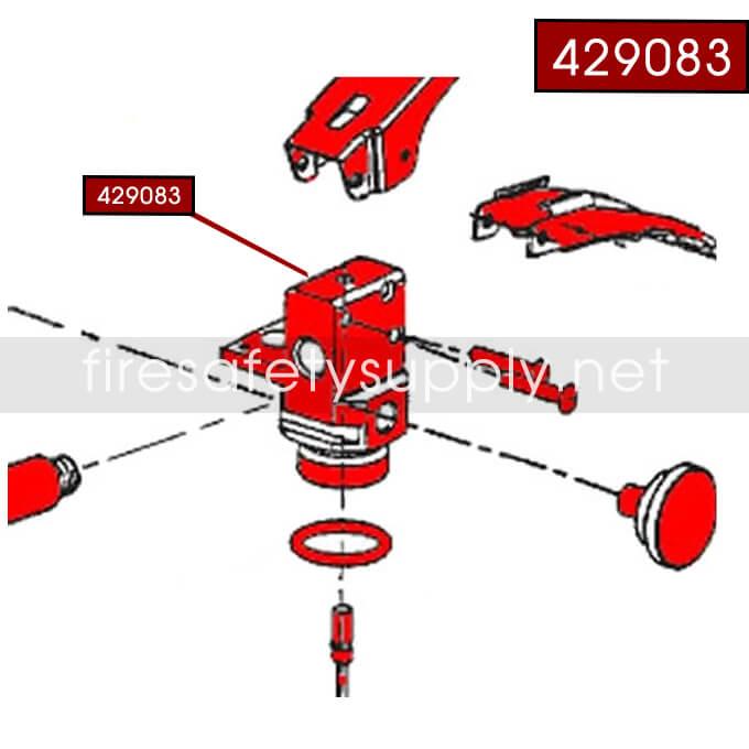 Ansul 429083 Sentry Dry Chemical Valve Assembly