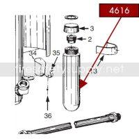 Ansul 4616 RED LINE 10 lb. Carbon Dioxide Cartridge