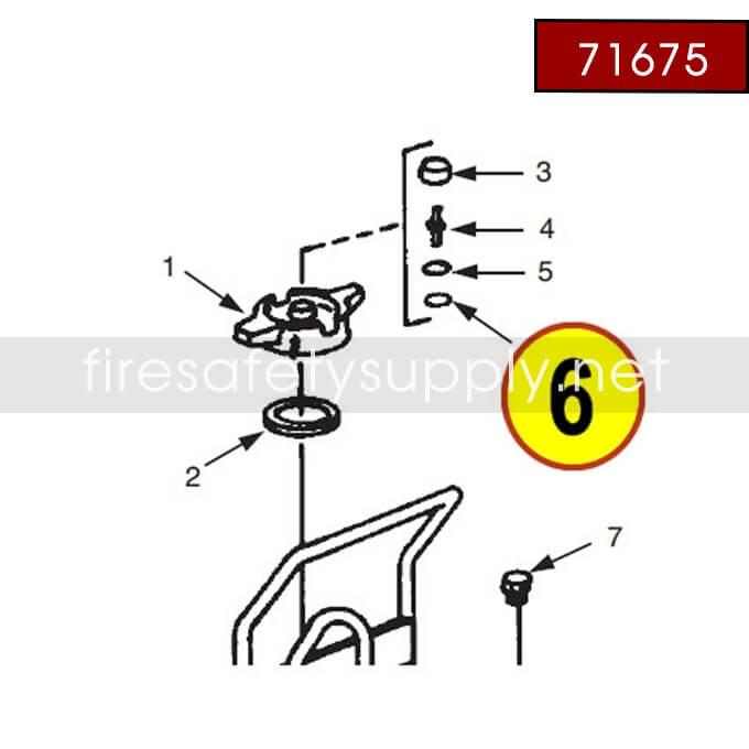 Ansul 71675 Retaining Ring