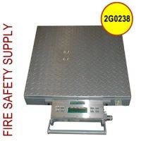 Getz 2G0238 Scale 2000lb Portable Aluminum