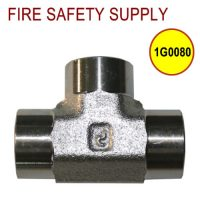 Getz 1G0080 Tee Steel 1 and 4 Inch FNPT
