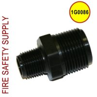 Getz 1G0086 Nipple Reducing Poly 1 X 1/2
