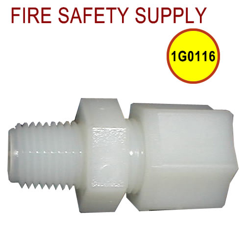Getz 1G0116 Connector Plastic 3/8 Tube X 1/4 MPT