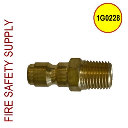 Getz 1G0228 Plug 1/4 x 1/4 Brass