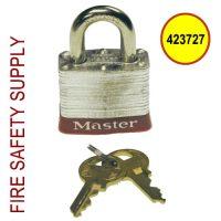Ansul 423727 - Padlock, 2-Keys Per Lock (All Locks Keyed Alike)