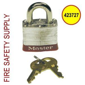 Ansul 423727 Padlock, 2-Keys Per Lock (All Locks Keyed Alike)