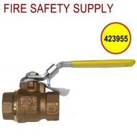 Ansul 423955 - Water Supply Valve, 3/4 in., Lockable