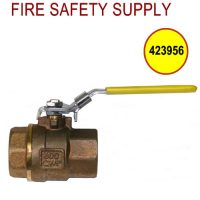 Ansul 423956 - Water Supply Valve, 1 in., Lockable