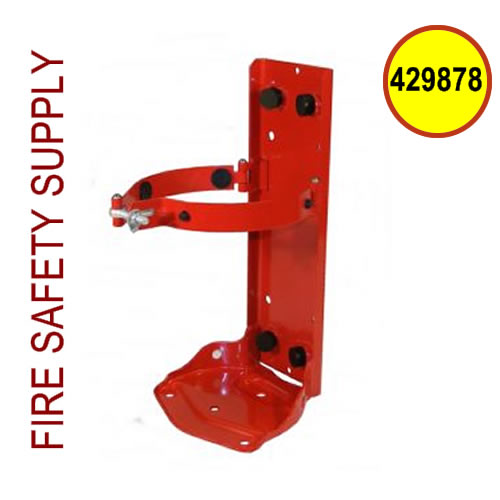 Ansul 429878 Painted Red Bracket (for use with 3.0 gallon tank)