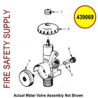 Ansul 439069 - Water Valve Assembly