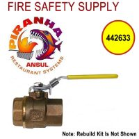Ansul Piranha 442633 Water Valve Rebuild Kit