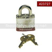 Ansul 423727 Padlock, 2-Keys Per Lock