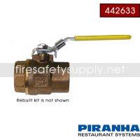 Ansul 442633 PIRANHA Water Valve Rebuild Kit