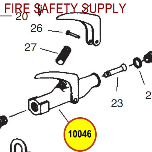 Ansul 10046 Nozzle Assembly, LT, Purple-K